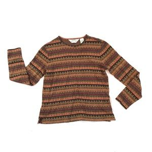 Orvis Long Sleeve Shirt Womens XS